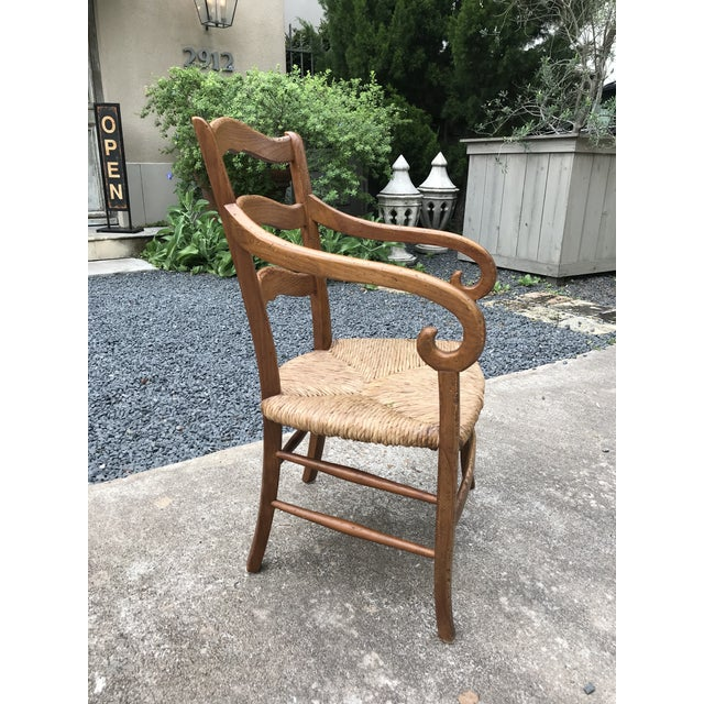 1980s Charles X Style Armchairs - Set of 6 For Sale In Houston - Image 6 of 9