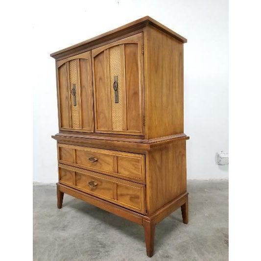 1960s Dixie Mid-Century Highboy Dresser For Sale - Image 10 of 13