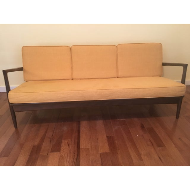 Mid-Century Modern Selig Sofa by Ib Kofod Larsen For Sale - Image 3 of 4