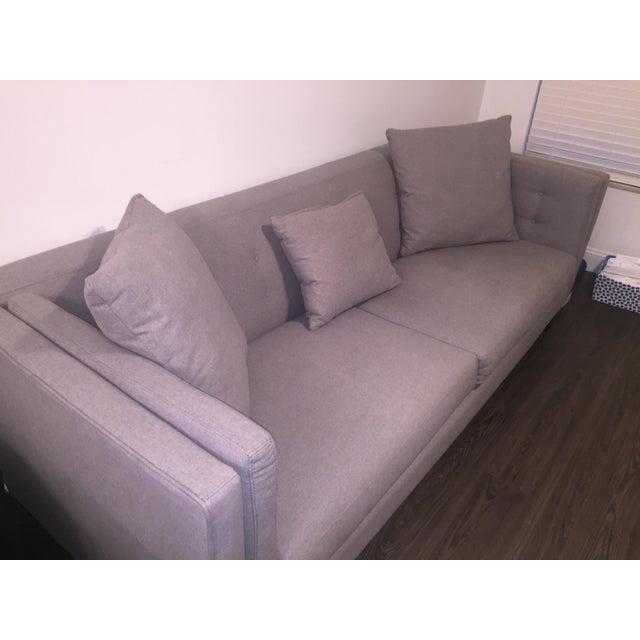 Braylei Gray Track Arm Sofa - Image 4 of 7
