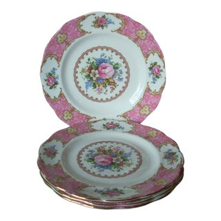 Royal Albert Luncheon Plates - Set of 4 For Sale