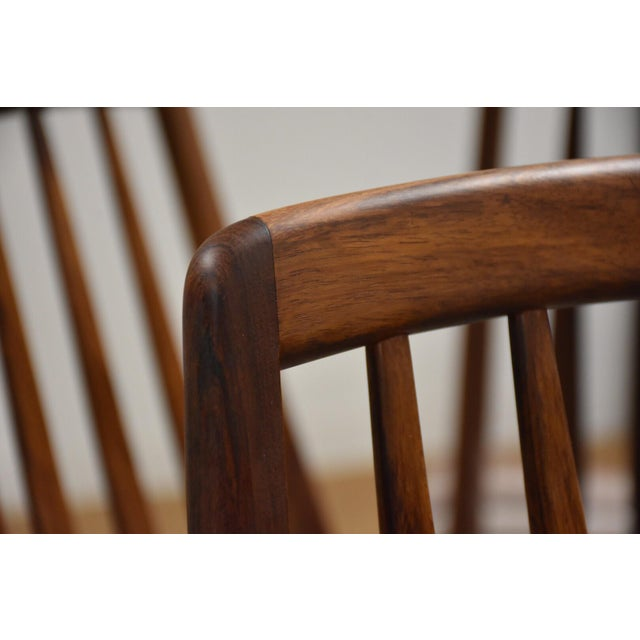 Dining Chairs by Niels Koefoed for Hornslet - Set of 8 For Sale - Image 9 of 12