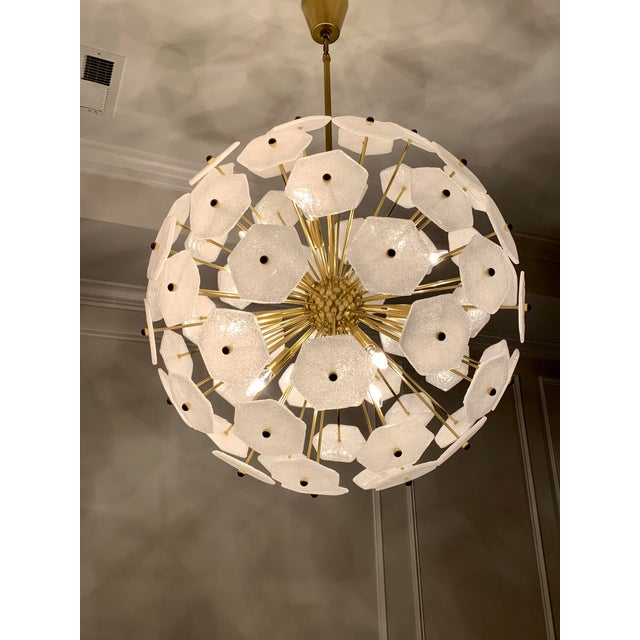 2010s Jonathan Adler Vienna Globe Chandelier Light Pendant For Sale - Image 5 of 9