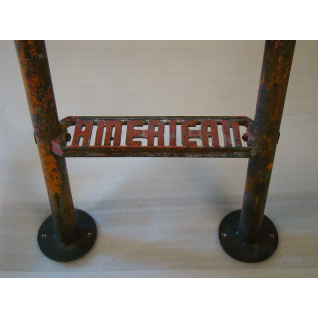 Metal Vintage Steel American Playground Ladder For Sale - Image 7 of 11