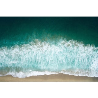 Breaking Waves 1/4 Inch Thick Acrylic Glass Print For Sale