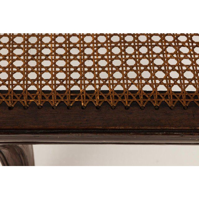 Brown Early 19th Century Antique Regency Style Triple Back Settee For Sale - Image 8 of 13