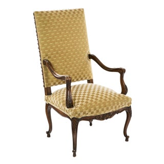 Louis XV Style Fruitwood Armchair