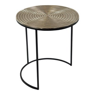 Dartmouth Ribbed Table Top Side Table