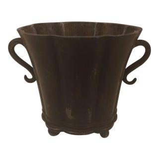 Just Andersen Disko Metal Vase For Sale