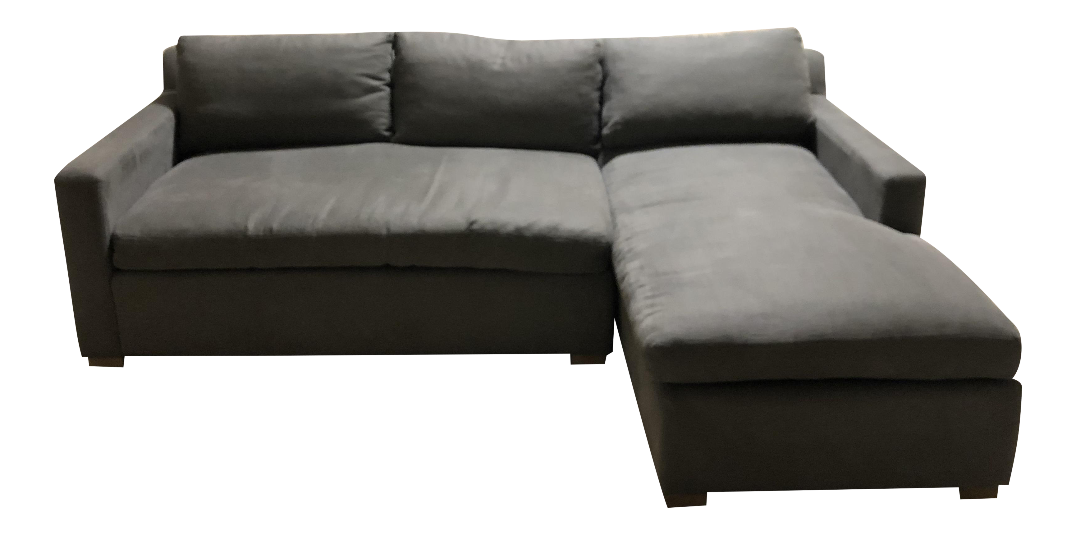 HD Buttercup RAF Chaise Charcoal Sectional