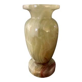 Light Green Alabaster Vase