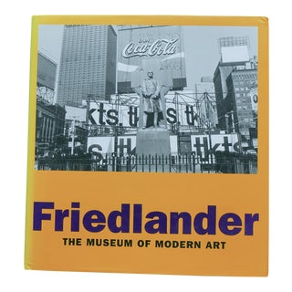 Friedlander the Museum of Modern Art-Galassi- First EDITION-Hardcover-2005 For Sale