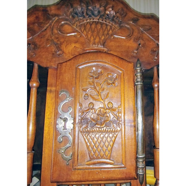 French Country Antique French Walnut Panatier For Sale - Image 3 of 7