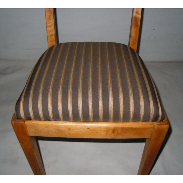 Swedish Biedermeier Accent Chair - Image 7 of 7
