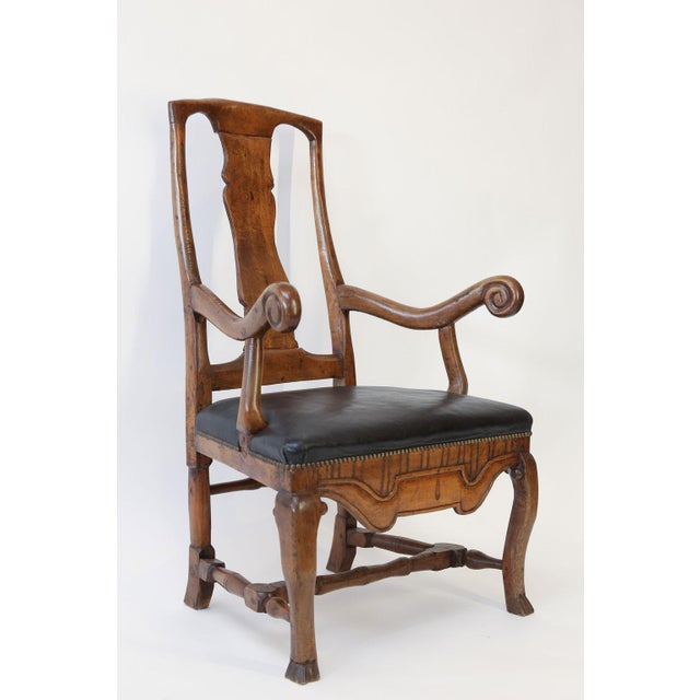 Large Baroque Swedish Armchair For Sale In Houston - Image 6 of 13