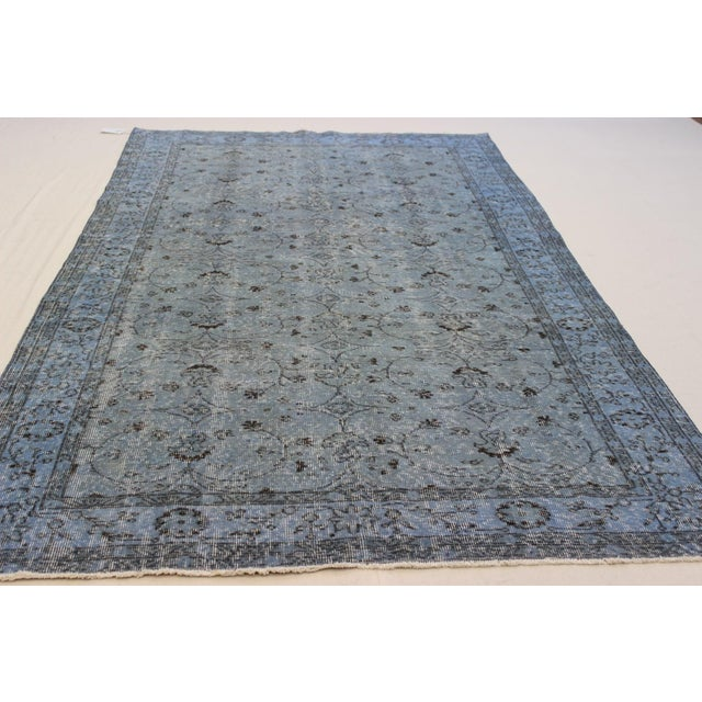 Vintage Overdyed Turki̇sh Rug - 5′8″ × 9′4″ - Image 5 of 8