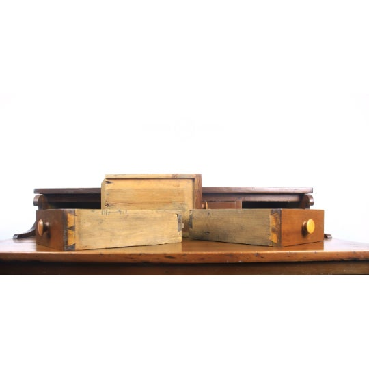 Early 19th Century 1800s Traditional Handcrafted Postmaster's Desk For Sale - Image 5 of 7