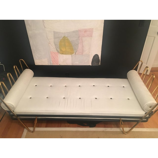 Jonathan Adler Maxime Daybed in excellent condition. Super chic and makes a great bed for overnight guests. FEATURES/...