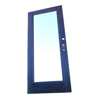Architectural Salvage Antique Door Mirror For Sale