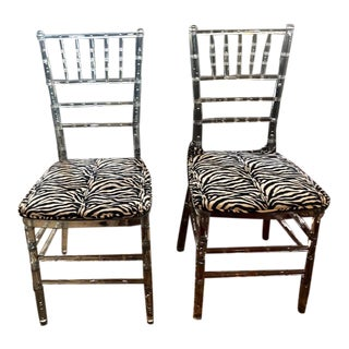 1970s Vintage Deco Lucite Chairs - A Pair For Sale