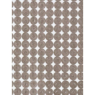 Sample, Scalamandre Labriz, Driftwood Fabric For Sale