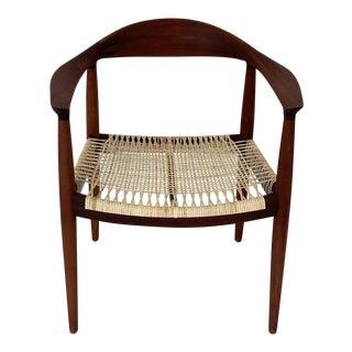 Hans Wegner Pp 501 by Pp Mobler Round Chair For Sale
