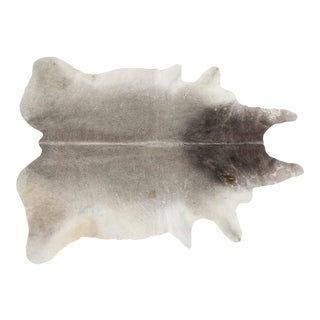 Gray Genuine Brazilian Cowhide For Sale