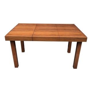 Early George Nelson Walnut Dining Table Butterfly Leaves Herman Miller For Sale