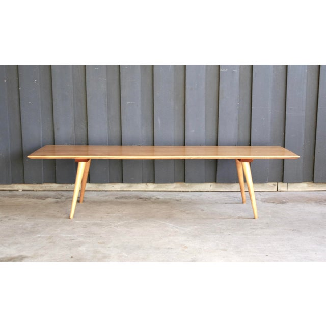 Wood 1950s Midcentury Paul McCobb Planner Group Coffee Table For Sale - Image 7 of 13