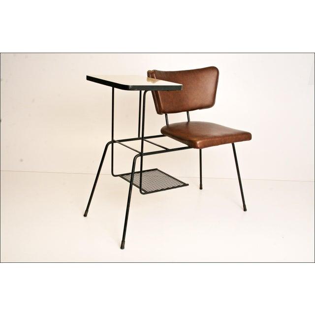 Mid-Century Modern Telephone Chair - Image 4 of 11