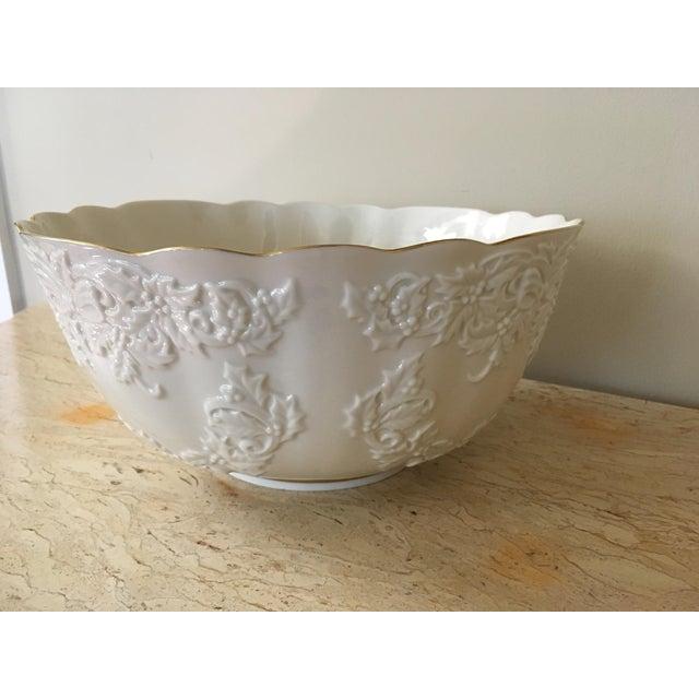 Lenox holiday hostess collection punch bowl chairish