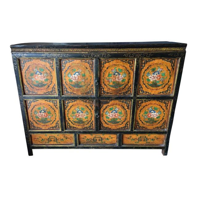 Tibetan Handpainted Cabinet - Image 1 of 11