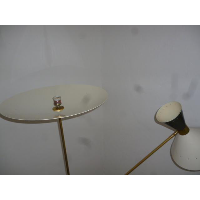 Stilnovo 1960 Stilnovo Style Italian Floor Lamp For Sale - Image 4 of 7