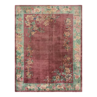 """Chinese - Art Deco Rug 8'9"""" X 11'4"""" For Sale"""