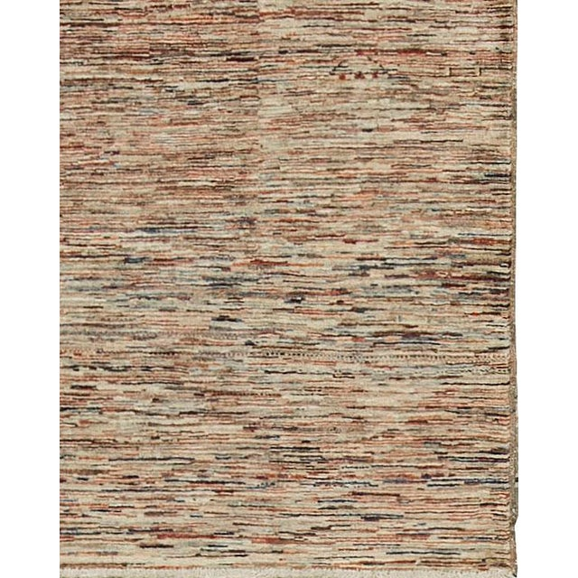 Contemporary Hand Woven Rug - 4' X 5'9 - Image 2 of 4