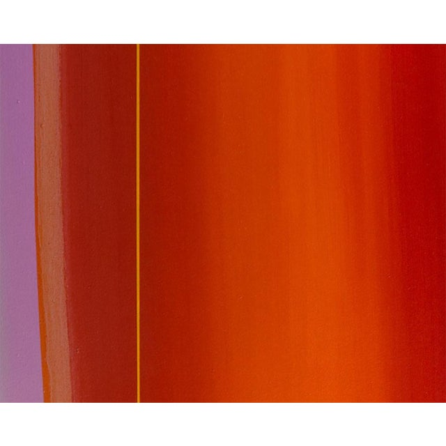 """Abstract Matthew Langley """"Flare"""" Painting For Sale - Image 3 of 4"""