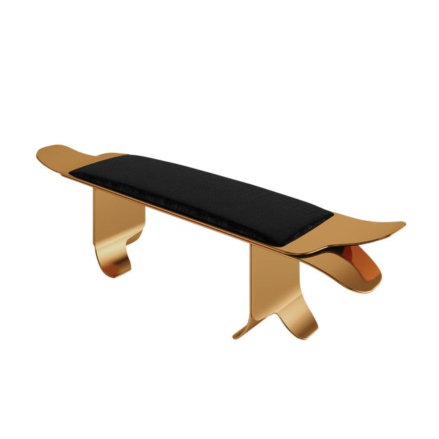 Flip Bench by Artist Troy Smith - Contemporary Design - Artist Proof - Custom Furniture For Sale