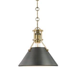 Metal No.2 1 Light Small Pendant - ADB For Sale