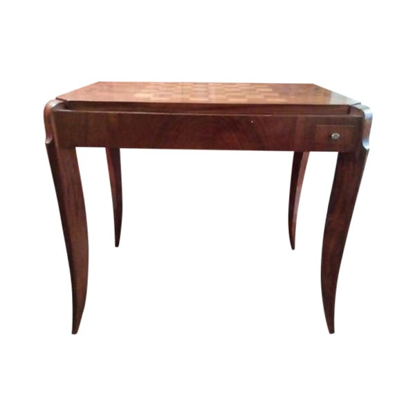 Art Deco Games Table - Image 1 of 8