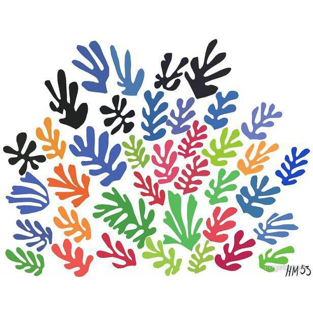 "Matisse ""Spray of Leaves"" Serigraph For Sale"