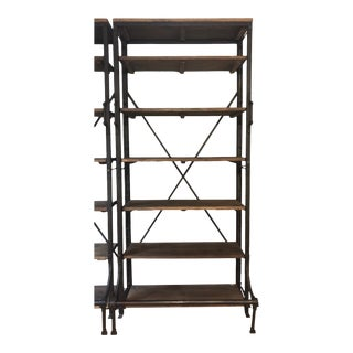 French Restoration Hardware Library Shelf For Sale