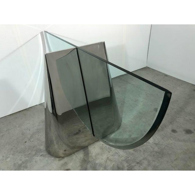 "Brueton J. Wade Beam ""Pinnacle"" Dining Table Bases for Brueton For Sale - Image 4 of 11"