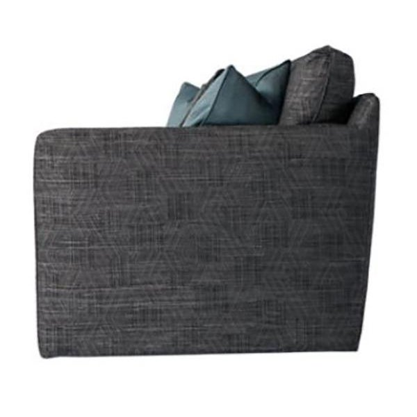 Contemporary Contemporary Charcoal Gray Sofa For Sale - Image 3 of 5