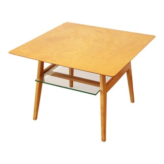 Jens Risom Mid-Century Modern Maple Cocktail Table For Sale