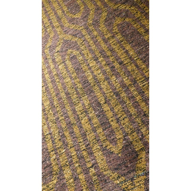 "Textile Modern Flat Weave Rug - 8' X 10'5"" For Sale - Image 7 of 10"