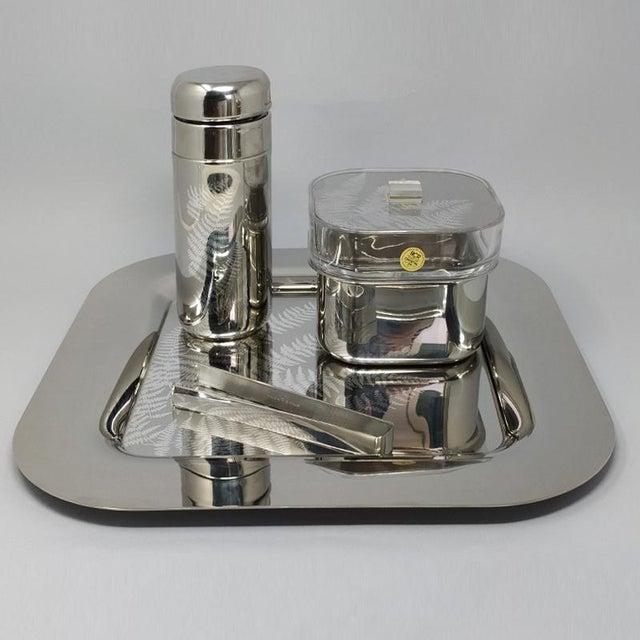 1970s Italian Sambonet Cocktail Set - 4 Piece Set For Sale - Image 9 of 10
