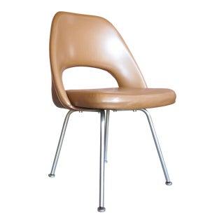 Vintage 1960s Knoll Eero Saarinen Executive Side Chair For Sale