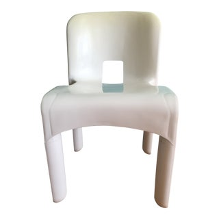1960s Vintage Kartell Sedia Universale Plastic Chair For Sale