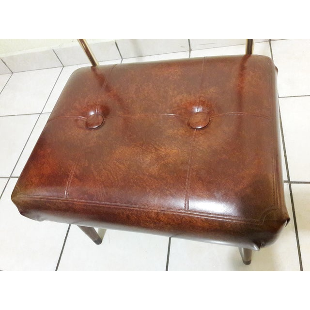 Mid-Century Coat Stand With Stool For Sale - Image 10 of 11