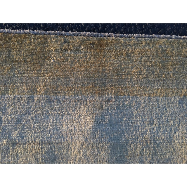 Persian Vintage Sultanabad Rug - 4′ × 5′8″ - Image 8 of 11